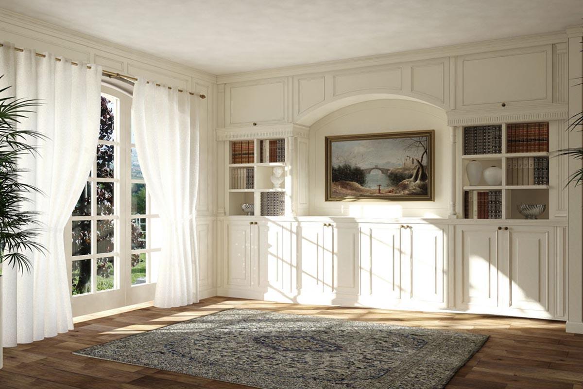 Arredo classico su misura 02 falegnameria casali for Arredo classico