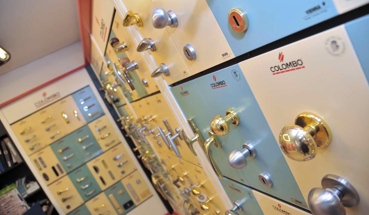 Maniglie colombo design falegnameria casali for Maniglie colombo